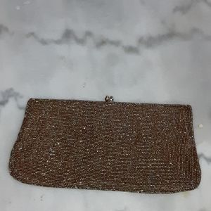 Vintage beaded bag that matches My gucci pumps